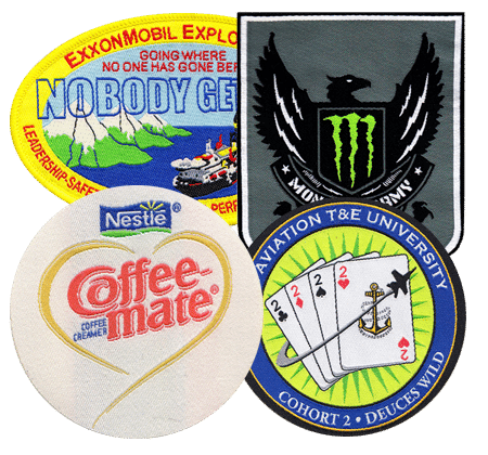 fine woven patches - Custom Patches Home