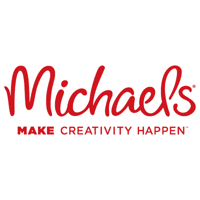 michaels logo red - Embroidered Custom Patches Home