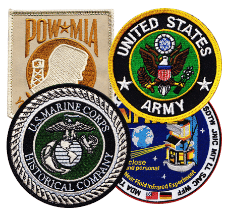 military patches - Embroidered Custom Patches Home