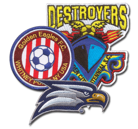 soccer patches - Embroidered Custom Patches Home